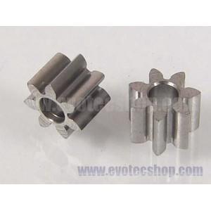 Piñones acero 7 D (x 2)