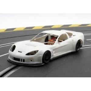 Corvette C6R GT2 en Kit carroceria blanca