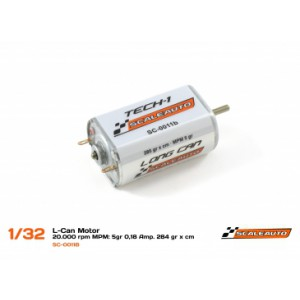 Motor SC11B 20K RPM. 284 gr/cm Caja larga