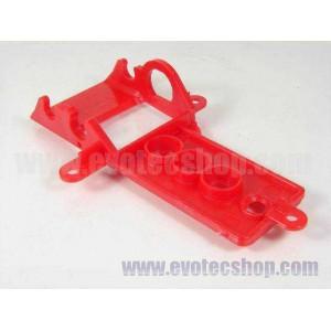 Soporte motor SideWinder Classic y Abarth 500 Extra Duro Rojo