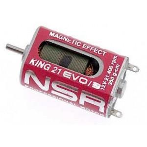 Motor King High Magnet 21400rpm 350gr/cm 12V Caja Larga