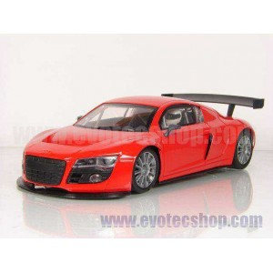 Audi R8 Test car Rojo