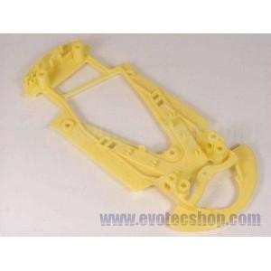 Chasis Audi R8 Extra Blando amarillo