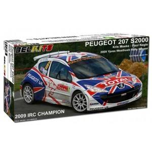 Maqueta 1/24 Peugeot 207 S2000 IRC Winner Ypres 2009 BELKITS