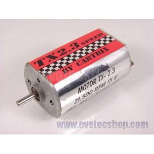 Motor TX 2.3 21500 15 V 330gr /200 mA