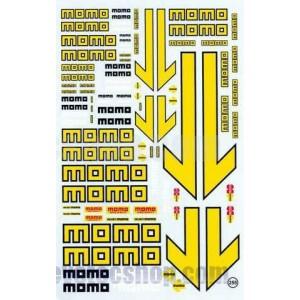 Calca al agua logos MoMo