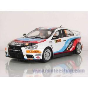 Mitsubishi Evo X Armindo Araujo ADAC Rally 2010