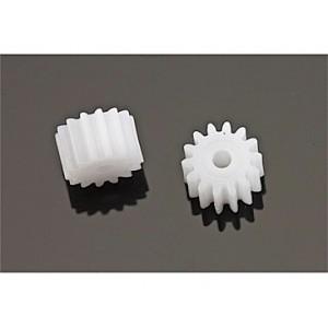 Piñón 14 d. nylon D.8mm