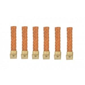 Trencillas con clip corto blandas para guia Narrow