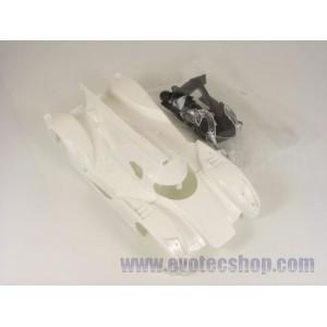 Carroceria blanca en kit Audi R18