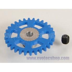 Corona sidewinder 30 dientes plastico 17,5 mm