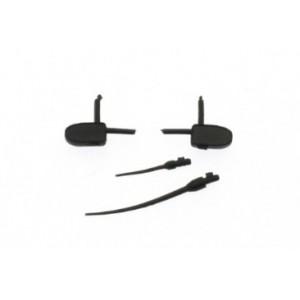 Retrovisores y antenas de goma