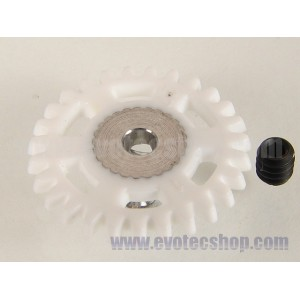 Corona anglewinder 27 dientes plastico 16 mm