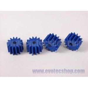 Piñones anglewinder 14 D 7,5 mm (x4) Azules
