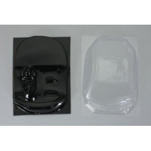 Interior y cristales de lexan Honda HSV