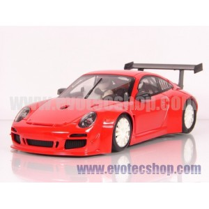 Porsche 997 Rally Test Car Rojo