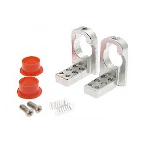 Soporte eje con suspension aluminio 10 mm