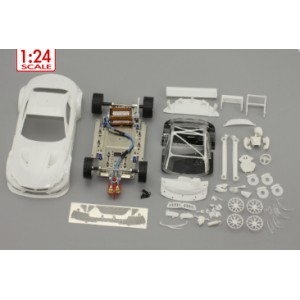BMW Z4 GT3 white racing kit