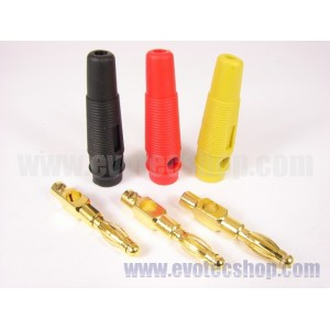 3 Jacks mando GOLD alta conductividad
