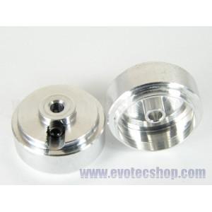 Llantas calibradas aluminio Ø16,3x8,3 3/32