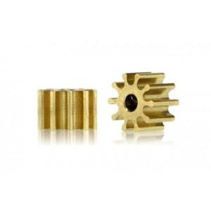 Piñón 10d. diámetro 5.5mm. para eje 1.5mm