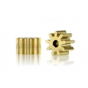 Piñón 9d. diámetro 5.5mm. para eje 1.5mm