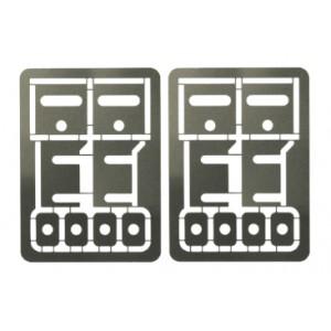 Separadores Metalicos 0.1mm para Soportes de Eje