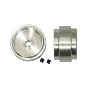 Llanta aluminio 15.8x10mm. eje 3/32 Diam ext. 13,6