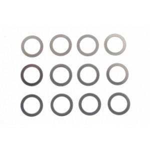 """Separadores para guia 3/16"""" 4x0,5, 4x0,1 4x0,2mm"""