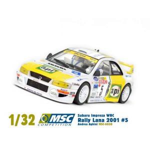 Subaru Impreza Api Rally Lana 2001 5 Andrea Aghini