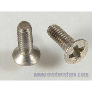 Tornillos phillips conico 2x6 x 10 uds