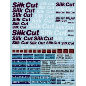 Calca 1/32 y 1/24 Silk Cut y Mild Seven