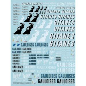 Calca 1/32 y 1/24 Gitanes y Gauloises