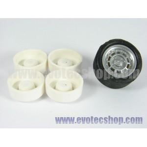 Llanta Pro ABS ext 14,9mm int 10,3 mm eje 2,5 mm x4