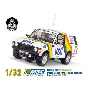 Range Rover VSD ganador del Paris-Dakar 1981