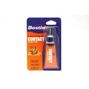 Cola Bostik Contact de color ambar