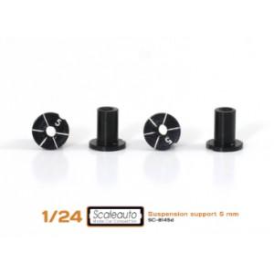 Casquillos sujección H 5mm Aluminio Non concentric
