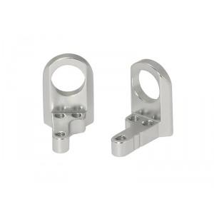 Soporte Eje Aligerado 9mm en Aluminio Mecanizado