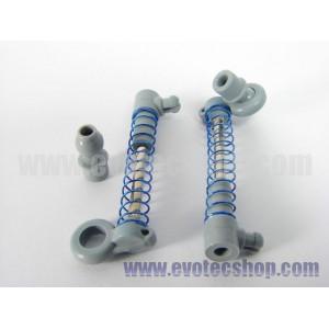 Amortiguador Standard eje metal rotula L x 2