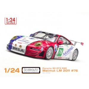 Porsche 911 GT3 RSR Matmut Le Mans 2011