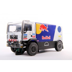 Camion Man truck Red Bull