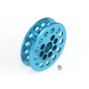 Polea dentada 13 D 1,8 mm eje 3/32 mm Color azul