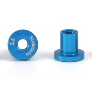 Casquillos aluminio de basculacion H 3,5 mm 4 uds