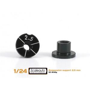 Casquillos sujecc H 2,5 mm Aluminio Non concentric
