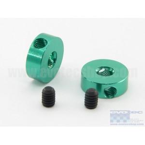 Posicionador aluminio tornillo M2,5 (2 pcs)