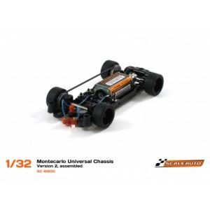 Chasis Montecarlo V2 Rallyslot universal Montado