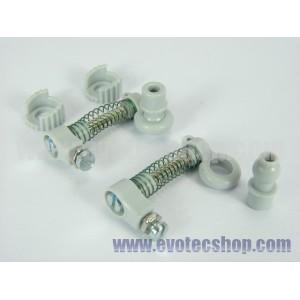 Amortiguador regulable tornillo Rotula L EVO x 2