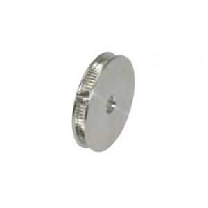 Polea alumino mecanizado standard para eje 2,38mm