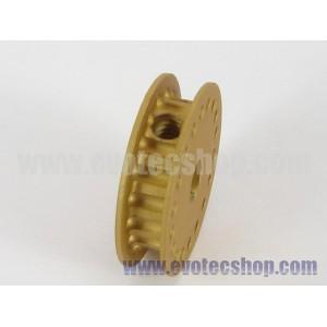 Polea dentada 18 dientes p/ejes 3 mm