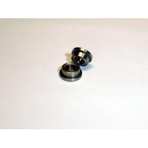 Rodamiento acero 2,38 x 4,75mm pestaña simple x 2